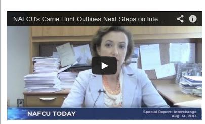 Hunt outlines next steps on interchange - NAFCU