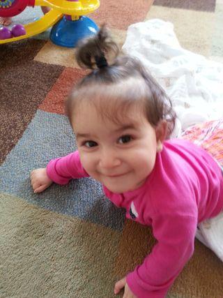 Ava Hair Up