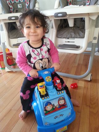 Ava driving car