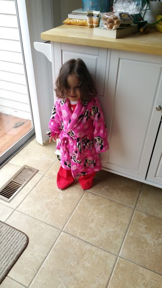 Dec 2015 Ava in New Robe