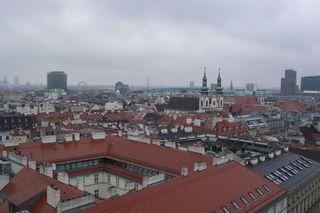 Reisenbad from Stephansdom's North Tower