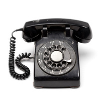 Landline Rotary Phone